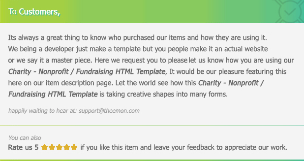 Charity - Nonprofit/NGO/Fundraising HTML Template