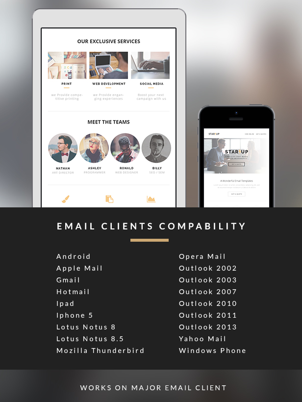 Startup - Creative E-newsletter