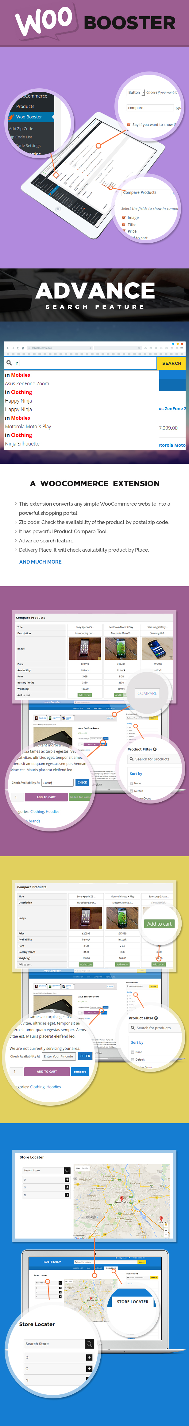 WooBooster - WooCommerce Compare, Live Search, Product Filter, Store Locator 1