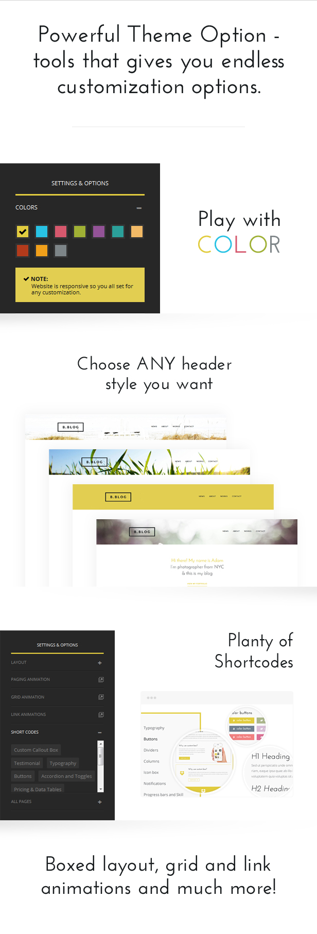 B-Blog: WordPress Theme