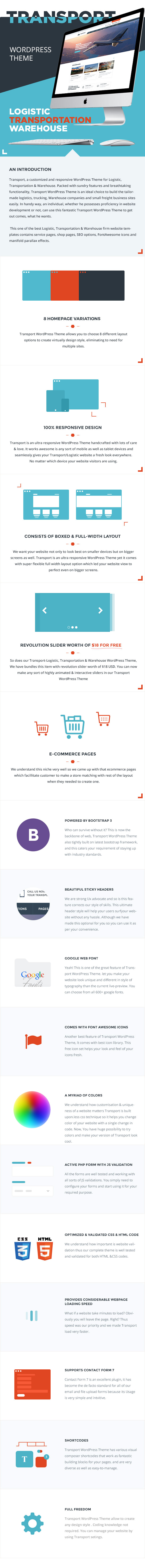 Transport - Logistic & Warehouse WP Theme