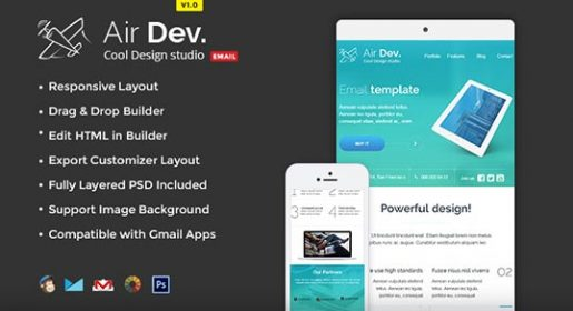 AirDev Email Template