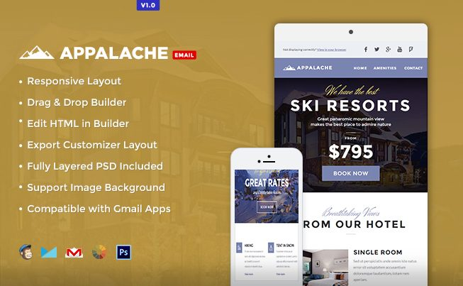 Appalache Email Template