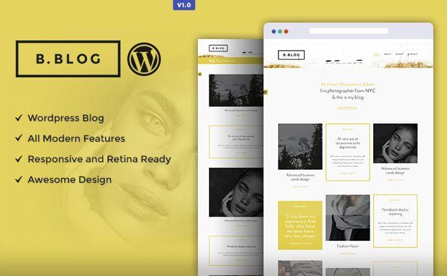 B-Blog WordPress Theme