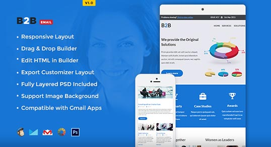 BB Responsive Email Template Buy Premium BB Responsive Email