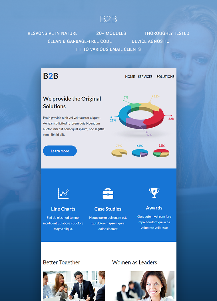 B2B Responsive Email Template