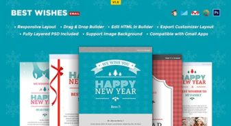 best wishes html email templatewishes email template