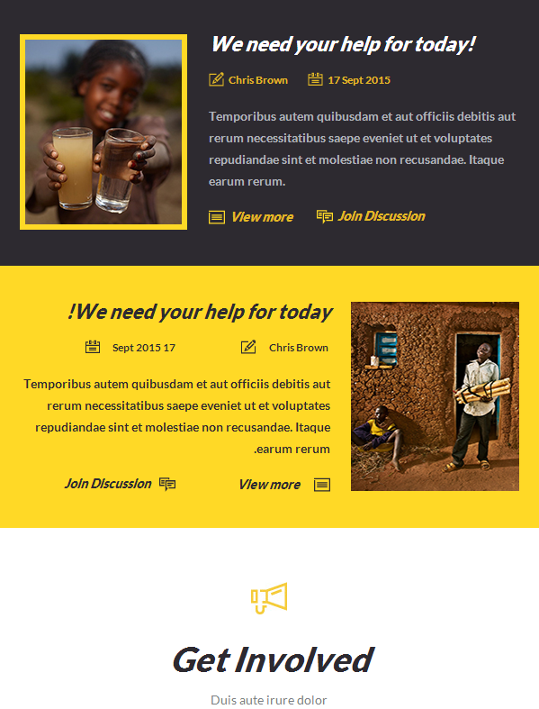 Charity With Online Builder Access & Appreciating Design