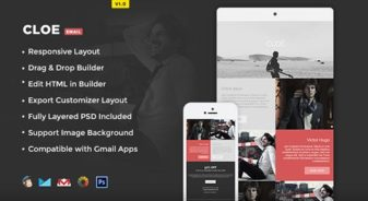 Cloe Responsive Email Template