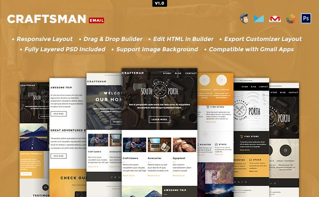 Craftsman Email Notification Template