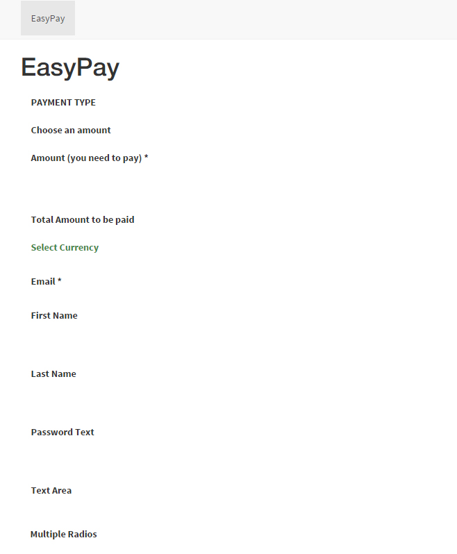 EasyPay: Incredibly Designed WordPress Paypal Plugin