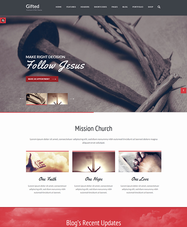 Offering Vast Layout Library With Gifted Multipurpose HTML5 Template