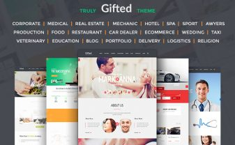 Gifted HTML5 Website Template
