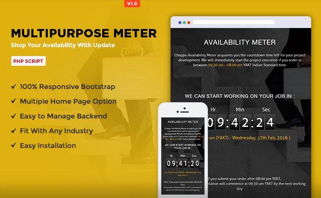 Multipurpose Meter PHP Script