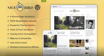 NiceBird WordPress Theme