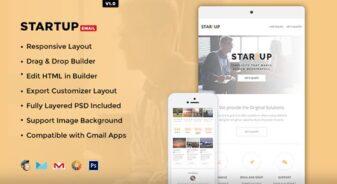 Startup E-newsletter Template