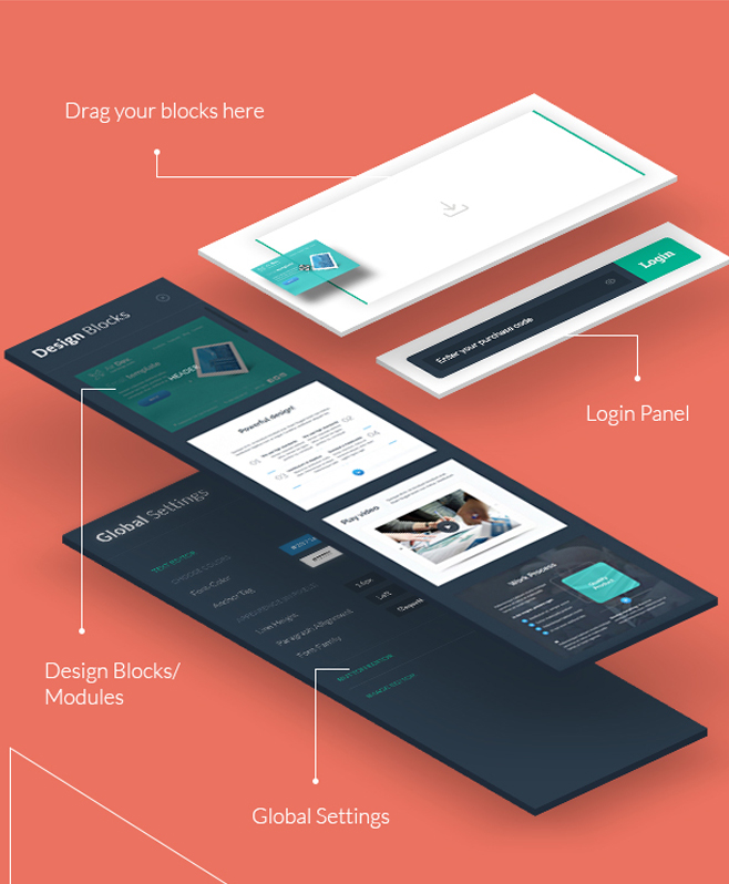 Theemail Builder With Tremendous Email Builder UI Kit