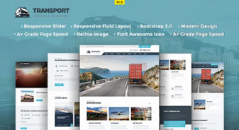 Transport HTML5 Template