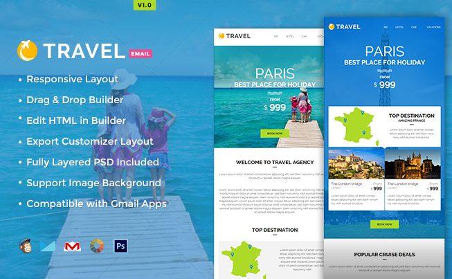 Travel E-newsletter Builder Access