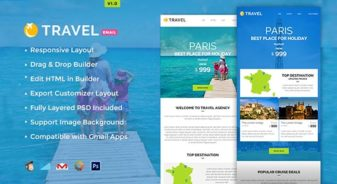Travel E-newsletter Builder Access
