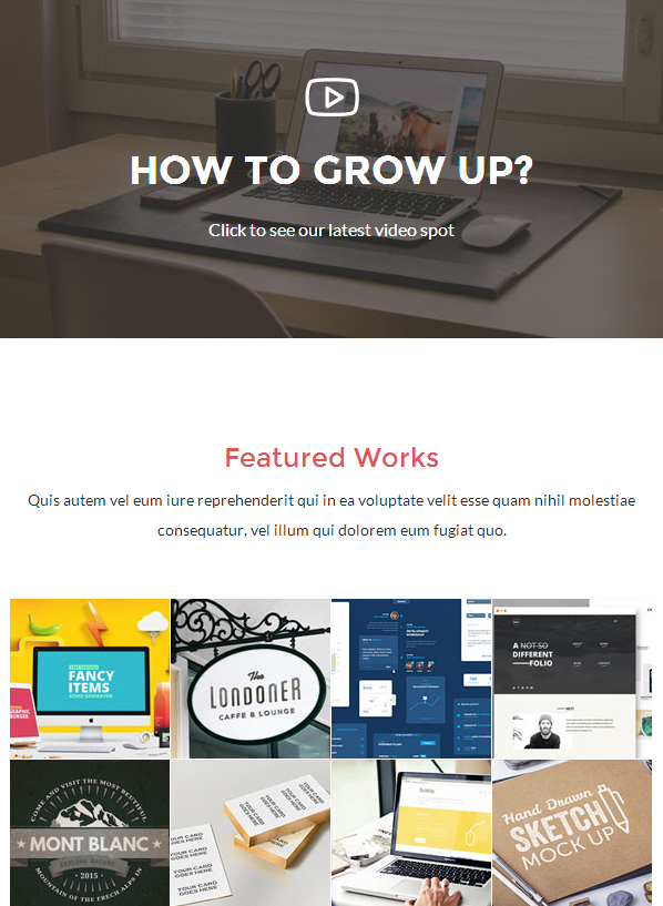 Email Newsletter Crafted Greatly With Builder Access - Unified