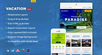 Vacation Responsive Newsletter