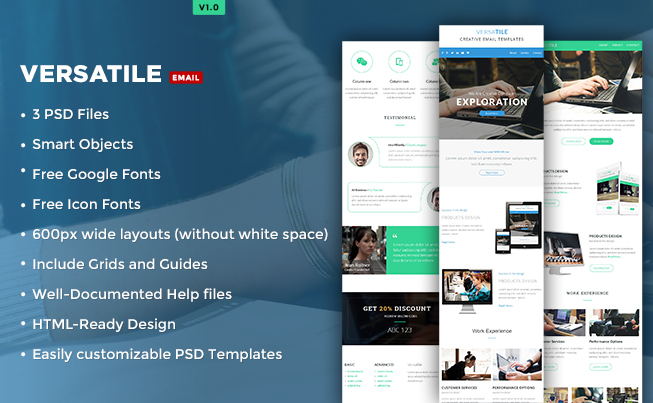 Versatile Newsletter Template
