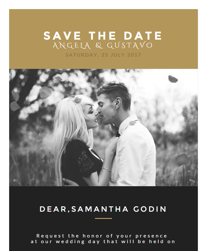 Wedding Invitation Card Email Template: Buy Premium Wedding ...