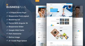 Business Plus HTML5 Template