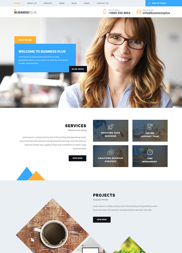 Business plus html5 template buy premium business plus html5 template business plus html5 template fbccfo Image collections