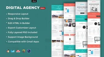 Digital Agency E-mail Template