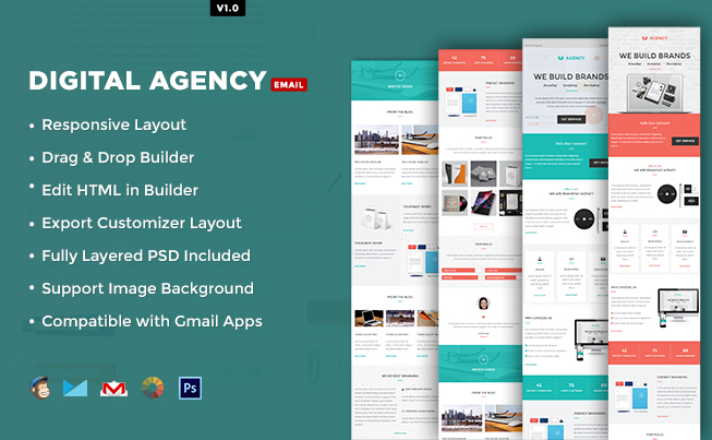 Digital Agency E-mail Template