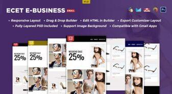 Ecet E-Business Newsletter Template