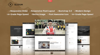 Elizium HTML5 Template