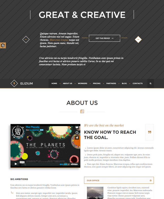 Offering Validated Short-codes & Markup With Elizium HTML Template
