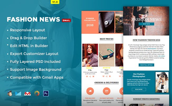 Fashion News Email Template