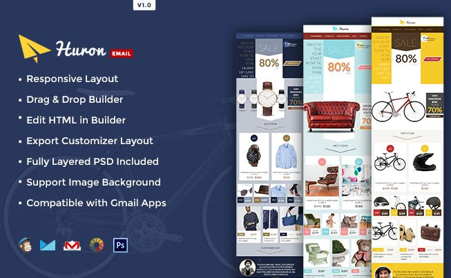 Huron Sale & Promotional E-newsletter