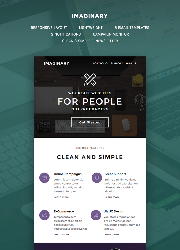 Imaginary Multipurpose Email Template