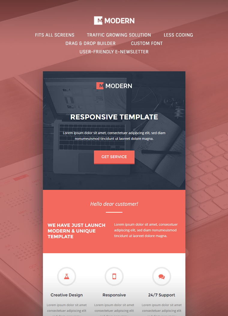 Email Templates Design Kleobeachfixco - Build responsive email template