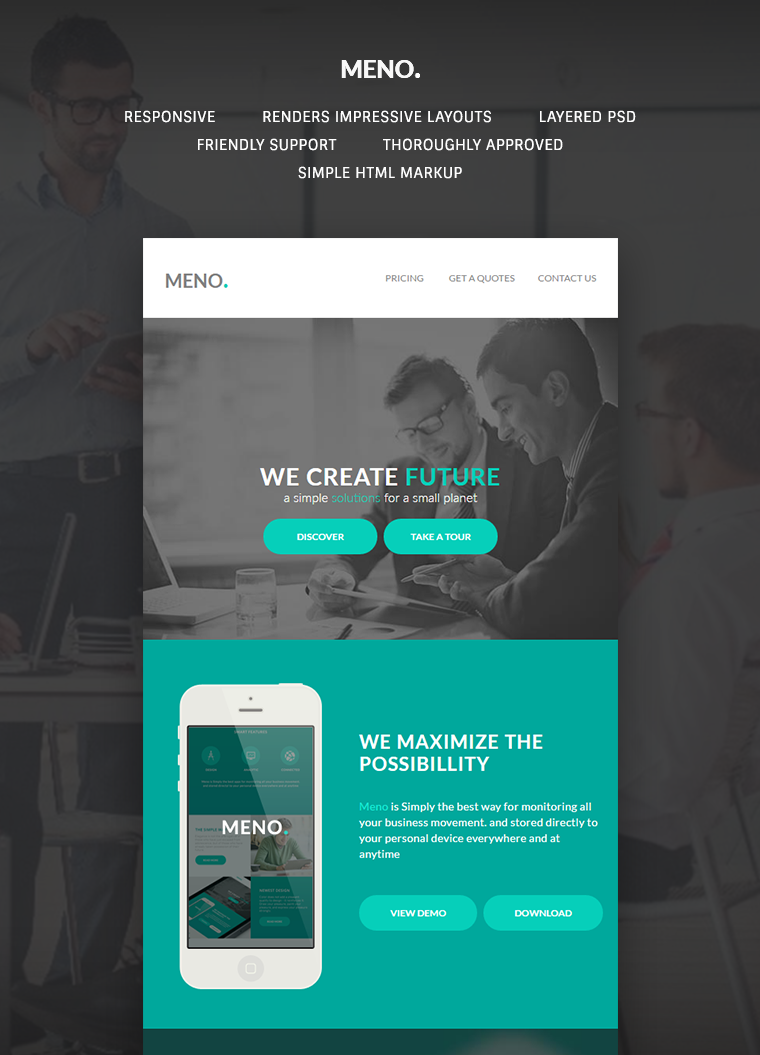 Meno Corporate Email Template