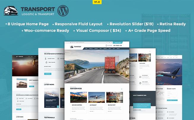 Transport Logistic WP Theme