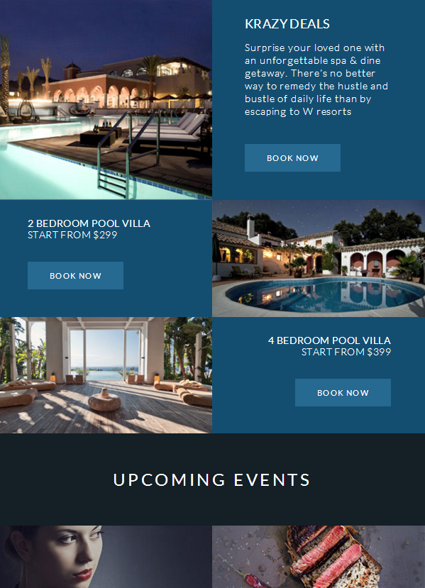 Drive More Prospective Customers With Wayan Resort Email Template