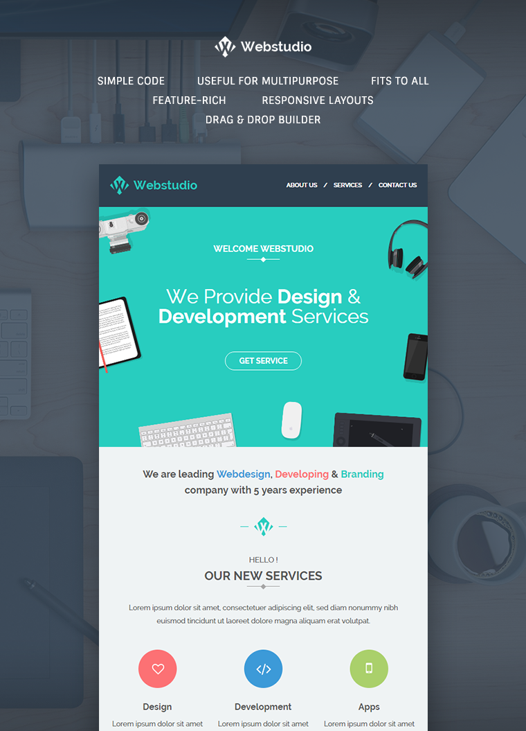 Template Web Design Free