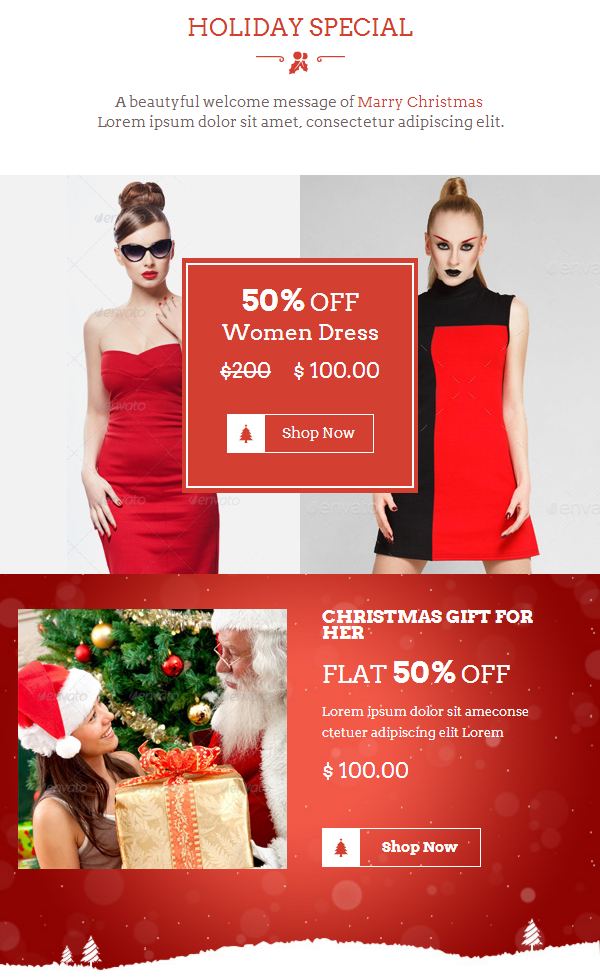 Offering MailChimp Support With Christmas Offers E-newsletter