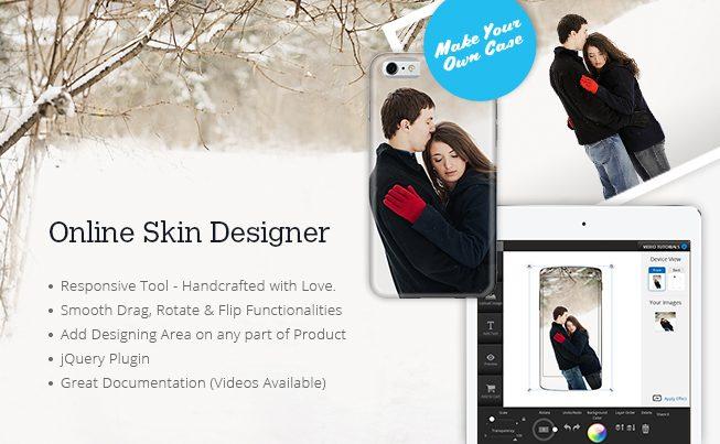 Custom Online Skin & Case Design Tool