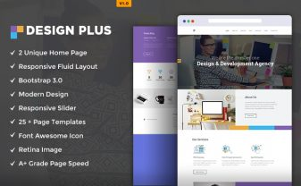Design Agency HTML5 Template