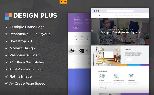 Design Agency HTML5 Template