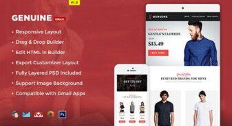 Genuine E-commerce E-newsletter
