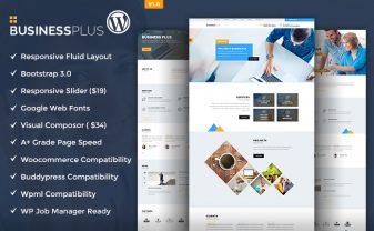 Business Plus Corporate WordPress Theme