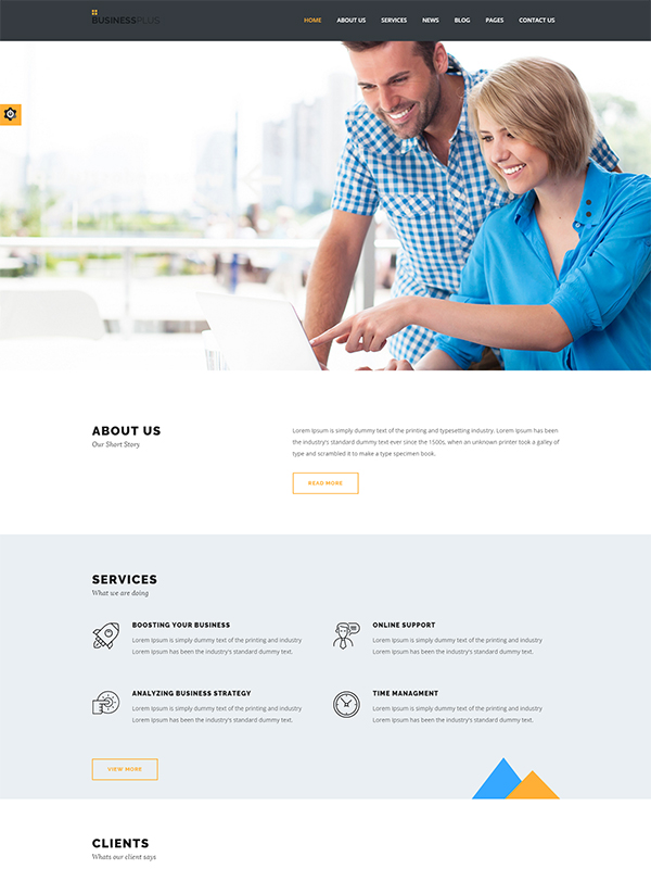 Ultimate Feature-Packed Business Plus Theme For Corporate Agencies
